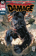 DAMAGE #1 DC COMICS Robert Venditti Tony S Daniel Danny Miki NM 2018