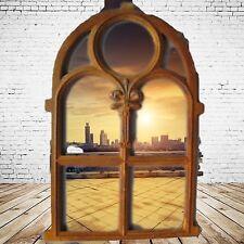 Stall Window Cast Iron Rusty Vintage Decor Gift Handyman Hardware