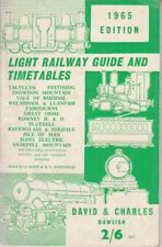 LIGHT RAILWAY GUIDE & TIMETABLES 1965 : R L (editors) Body G & Eastleigh