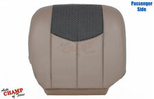 2003-2004 Chevy Avalanche LT Z71 Z66 -Passenger Bottom Leather Seat Cover Tan