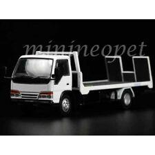 Yes X Peako 63502 Isuzu Flatbed Tow Truck 1/64 Model Car White