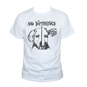 VEGAN NO DIFFERENCE T SHIRT-Unusual Animal Rights Political Protest Graphic Tee