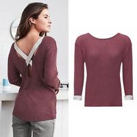 AVON Ladies Womens Thin Knit Jumpers T Shirts Sweatshirts Size 10 12 14 16 18 20