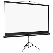 100 Inch 169 Projector Projection Screen With Stand Home Theater Movie