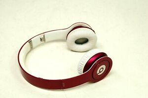 Beats by Dr. Dre Solo HD Headband Purple  Headphones Wired Missing Aux Cable