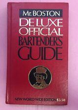 Ra003 Mr. Boston Deluxe Official Bartender's Guide