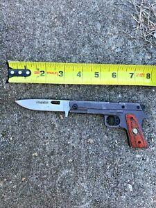 Tac-force Speedster Model Knife, Gun Shaped