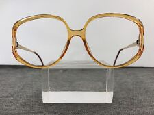 Christian Dior Sunglasses 2394 30 57-16-125 Germany Orange Gold Butterfly 6311