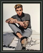 Justin Bieber - Signed A4 Photo Poster - FREE POSTAGE