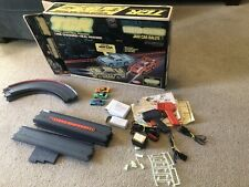 Vintage 1977 Ideal Tcr Slotless Track Lighted Blazers Raceway with 3 Cars!