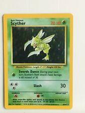 --Pokémon Jungle Holo Error/Misprint missing symbole Scyther 10/64