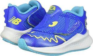 New Balance 258644 Infant Hook and Loop Sneaker Shoe Vivid Cobalt Size 2 Medium
