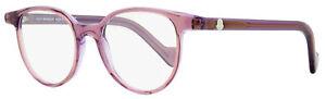 Moncler Oval Eyeglasses ML5032 074 Transparent Pink/Violet 47mm 5032