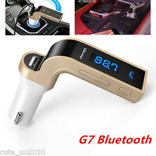 Wireless Bluetooth FM Transmitter Radio Car Kit Mp3 Player IN USB Charging Port
