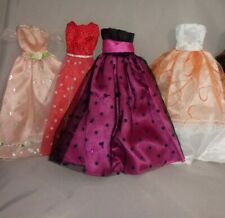 Barbie Size Princess Ball Gowns Lot Of 4