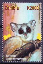Zambia 2001 MNH, Bush Baby, Wild Animals (D1n)
