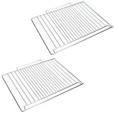 2 x INDESIT Genuine Oven Cooker Grill Shelf (477mm x 363mm)