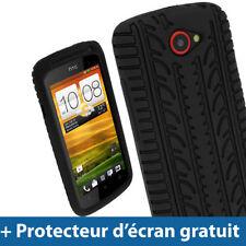 Étuis, housses et coques HTC One S en silicone, caoutchouc, gel pour téléphone mobile et assistant personnel (PDA) HTC