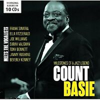 COUNT BASIE - MILESTONES OF A JAZZ LEGEND   10 CD NEW!
