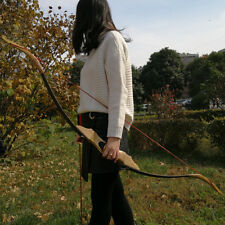 "30-50lbs Archery Traditional Bow Wooden Takedown Recurve Bow Handmade 54"" Shoot"