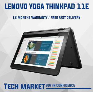 LENOVO YOGA THINKPAD 11E CHROMEBOOK WITH TOUCH SCREEN, PLAY STORE AND CHROME OS