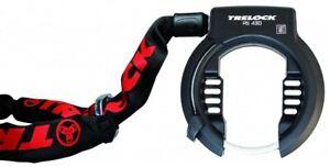 Ringschloss Trelock RS430 inkl. Einsteckkette ZR355-100cm und Aufbewahrungstasch