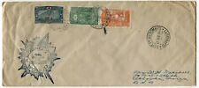 SOMALI COAST to USA Cover AFRICA Stamps Postage SS RESOLUTE Cachet 1934