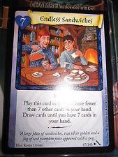 HARRY POTTER TCG CARD CHAMBER OF SECRETS ENDLESS SANDWICHES 67/140 UNCO MINT EN