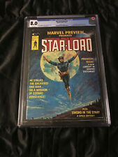 1976 Marvel Preview #4 CGC 8.0 Very Fine RARE 1st Appearance of Star-Lord!!