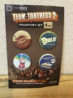 Team Fortress 2, 4 Pin Collector Set Loot Crate Exclusive