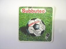 VECCHIO ADESIVO anni '80 / Old Sticker SUBBUTEO (cm 9 x 9)