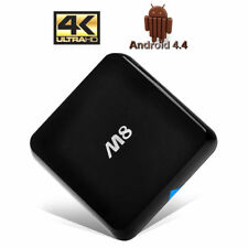 Zs- Box Tv M8 Android 4.4 Quad Core 2Ghz Ram 2Gb Bluetooth HDMI WiFi 3D 2K-4K  S