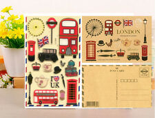 Viaggio Royal Londra Diary Deco Set Adesivi Scrapbooking Artigianato Telefono