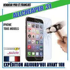Verre Trempé Vitre protection iphone 11 X 8 + 6s 7 + 6 6+ 5 5s 5C 4s Authentique