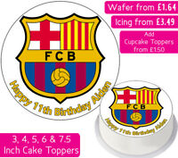 6 X EDIBLE CUPCAKE TOPPERS  MANCHESTER United  badge   EXTRA LARGE SIZE 3INCHES