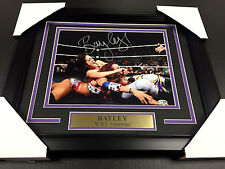 BAYLEY WWE WWF FRAMED 8x10 PHOTO #3 AUTOGRAPHED SIGNED AUTHENTIC SIGNATURE