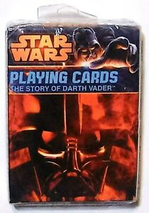 Star Wars: 'The Story Of Darth Vader' Playing Cards (New/Sealed) 2014