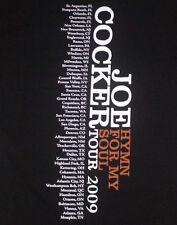 "NEW MENS L ""JOE COCKER"" VINTAGE LOOK T SHIRT, ""Hymn For My Soul 2009 Tour"" Tee"