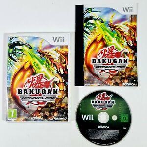 Nintendo Wii Spiel BAKUGAN DEFENDERS OF THE CORE (Beschützer des Kerns) PAL/RPG