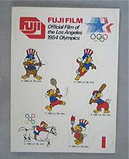Vintage U.S. Olympic Sticker Set - Advertising Fuji Film Sam the Eagle Souvenir