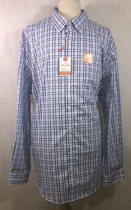 Van Heusen Traveler Stretch Long Sleeve Shirt Men XLT-17/17.5 & 3XLT-20/20.5 New