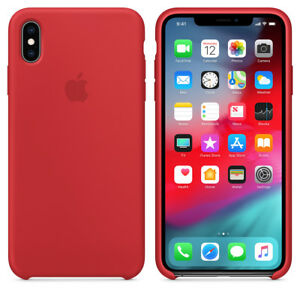 RED REAL ORIGINAL Apple Silicone Case iPhone XS Max