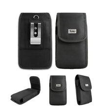 Heavy Duty Rugged Pouch Case Belt Clip Holster For Metro Pcs ZTE Blade Z Max