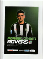 FOREST GREEN ROVERS v TORQUAY Football Programme 23 September 2008 - Blue Square