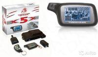 TOMAHAWK X5X car alarm two-way anti-theft lock Russian version 1PCS NEW