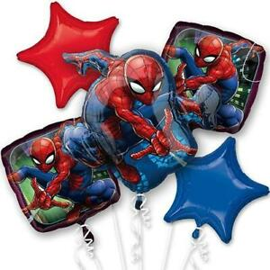 Bouquet Balloons Set of 5 Mylar Birthday Party Decoration Set (59 Selections)
