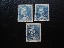 FRANCE - timbre yvert et tellier n° 295 x3 obl (A5) stamp french