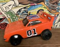 Vintage General Lee 01 Warner Bros Rare Pull back Dukes of Hazzard 1980 Toy Car