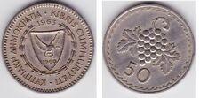 CHYPRE   50 MILS  1963