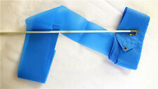 10 BLUE DANCE RIBBON 4M GYMNASTIC STREAMER CHINESE BATON TWIRLING EXERCISE PARTY